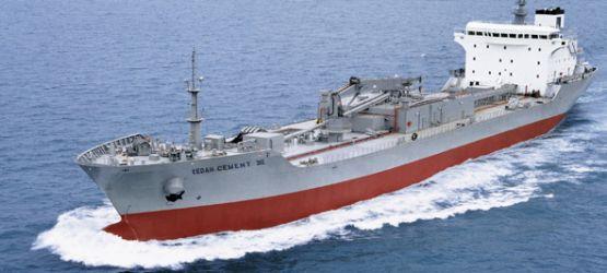 M.V. KEDAH I II on the sea